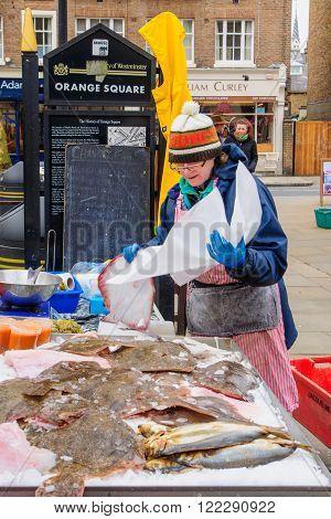 Pimlico Road Farmers Market, London