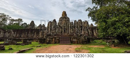 Panorama Of Ancient Temple