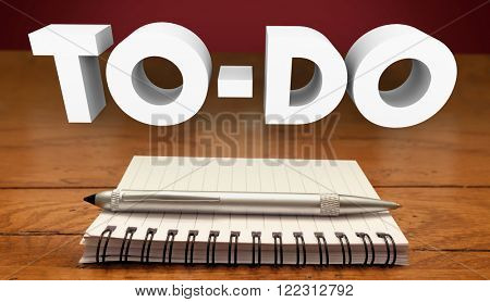 To Do List Notepad Writing Tasks Jobs Work Projects