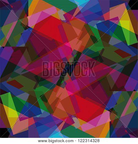 motley abstract  mosaic geometrical background set shapes