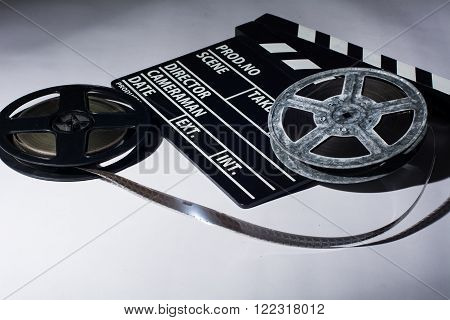 Two Reels Of Film With A Clap Movie