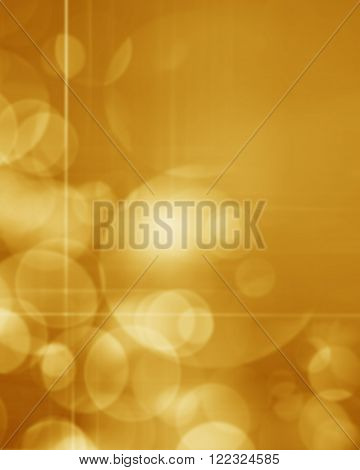 Abstract defocused lights sparkling holiday bokeh background with golden tones elegant christmas backdrop