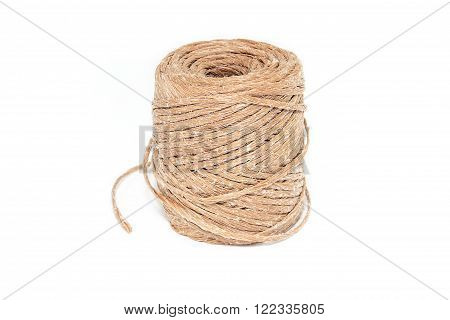 Twine for work and creativity on a white background