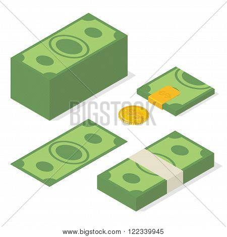 Money. Vector Illustration