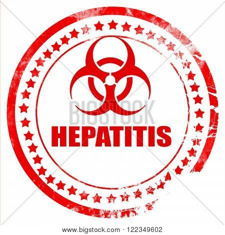 Hepatitis virus concept background with some soft smooth lines