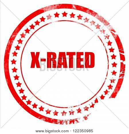 Xrated sign with some nice vivid colors