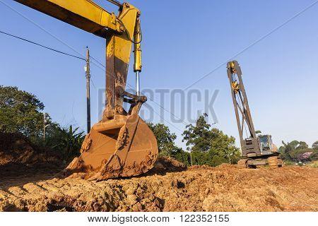 Excavator Bin  Crane Construction Machines