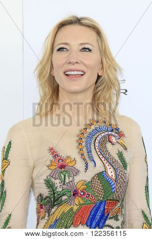 SANTA  MONICA - MAR 1: Cate Blanchett at the 2016 Film Independent Spirit Awards at Santa Monica Beach on February 27, 2016 in Santa Monica, California