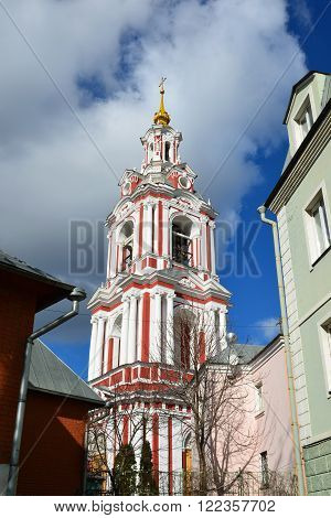 Temple of the Great Martyr Nikita on a Staraya Basmannaya Street, Moscow, Russia