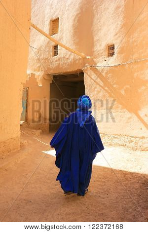 Tuareg Man In Rissani