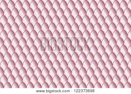 A pink eggshell oval background with dark outlines
