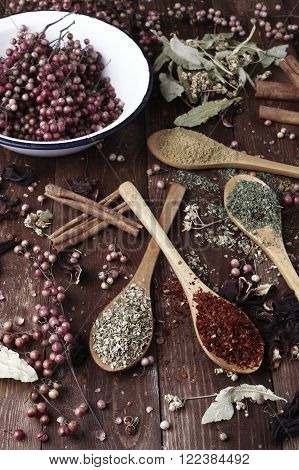 tea and spices food and alternative medicine products