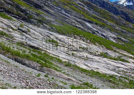 Summer Mountain Slope