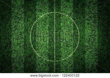 Artificial grass green grass soccer field background