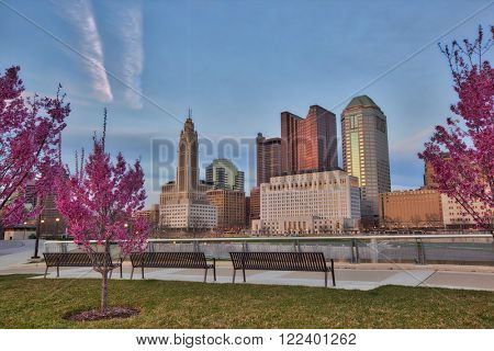 Spring time in Columbus, Ohio