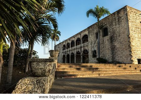 Alcazar de Colon in Santo Domingo, Dominican Republic