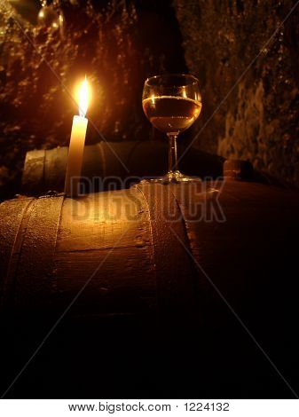 Wine And Candlelight