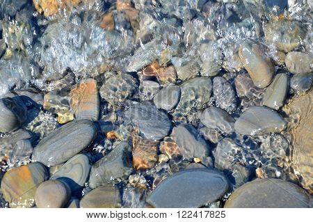 Sea Stones, Water