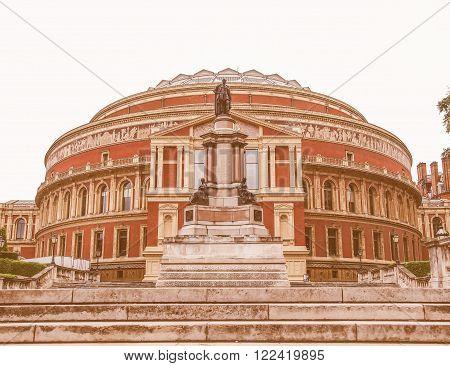 Royal Albert Hall London Vintage