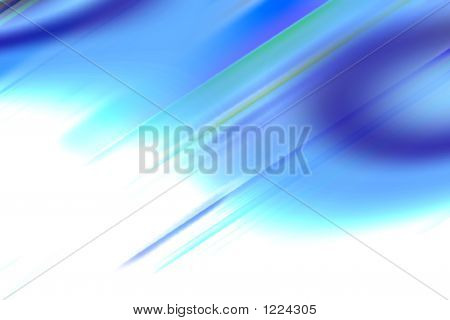 Abstract Composition, Ice Background