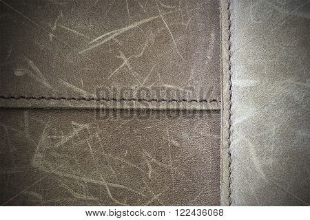 Brown Nubuck Leather Texture