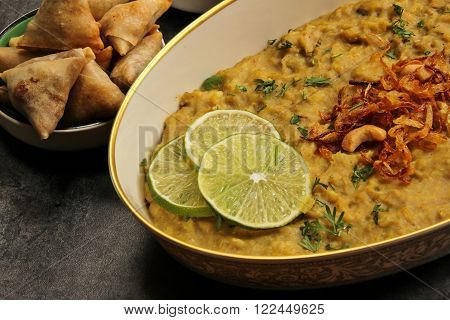 Haleem - Traditional Ramadan food similar to Khichra