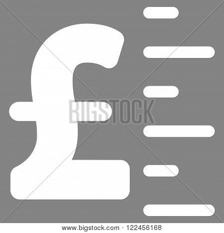 Pound Value vector icon. Pound Value icon symbol. Pound Value icon image. Pound Value icon picture. Pound Value pictogram. Flat pound value icon. Isolated pound value icon graphic.