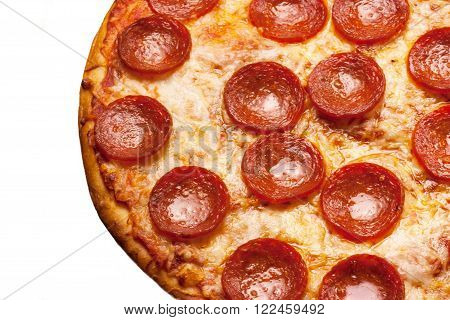 Pepperoci Pizza close up for webpage backgounds