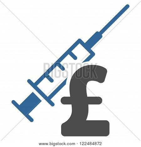 Narcotic Pound Business vector icon. Narcotic Pound Business icon symbol. Narcotic Pound Business icon image. Narcotic Pound Business icon picture. Narcotic Pound Business pictogram.
