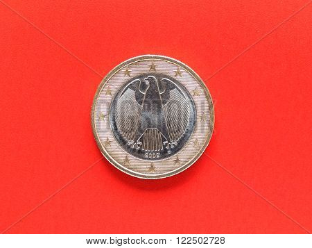 One Euro Coin Money