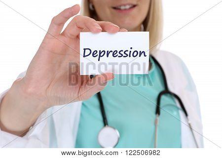 Depression Depressed Burnout Ill Illness Doctor Nurse