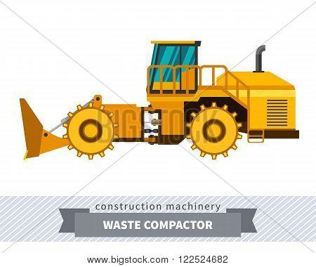 Landfill Waste Compactor