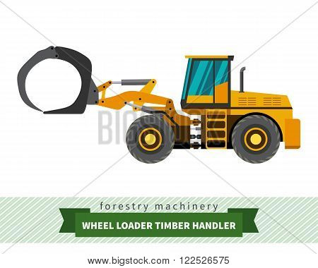 Timber Handler Vehicle
