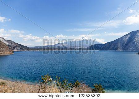 Lake and Fuji san