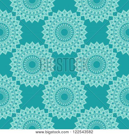 Vector seamless ornamenta pattern pattern eps 10
