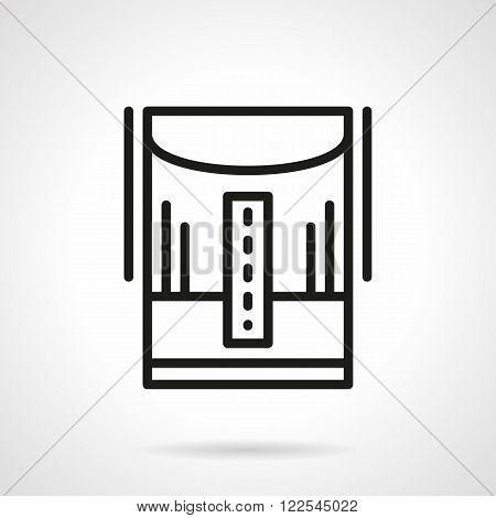 Humidifier line black line vector icon