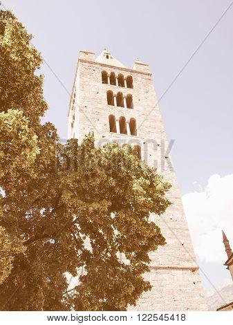 Church Of Sant Orso Aosta Vintage