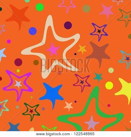 Seamless Pattern Stars 31