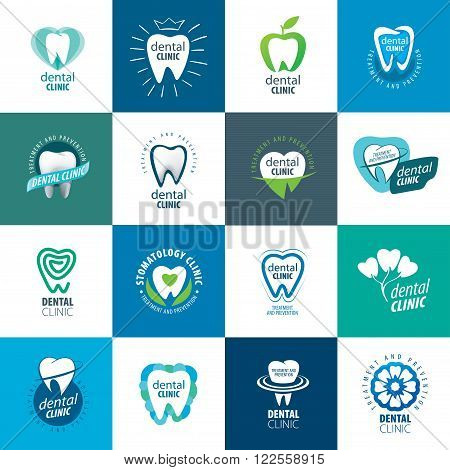 vector logo for the treatment, prevention, and protection of the teeth