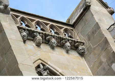 The Basilica of Saints Nazarius and Celsus (French: Basilique des Saints Nazaire et Celse) is a romanesque-gothic minor basilica located in the citadel of Carcassonne France