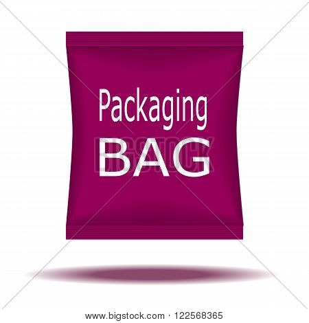 Packaging Box Design. Vector Illustration EPS 10