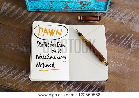 Dawn As Distribution And Warehousing Network
