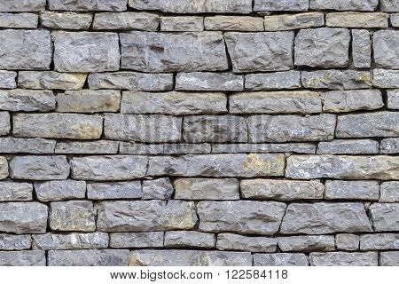 Wall of stone as Seamless texture background