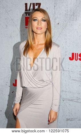 Natalie Zea at the Season 3 Premiere of