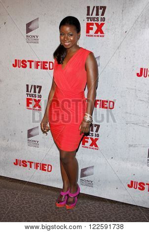 Erica Tazel at the Season 3 premiere screening of