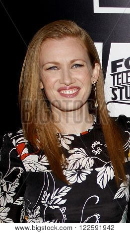 Mireille Enos at the Los Angeles Season 2 premiere of AMC's 'The Killing' held at the ArcLight Cinemas in Hollywood, USA on March 26, 2012.