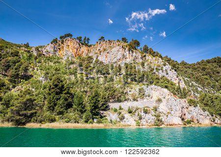 Beautiful Landscape In Krka National Park - Dalmatia Croatia Europe