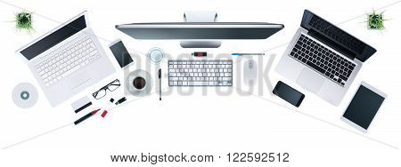 Hi-tech Business Desktop