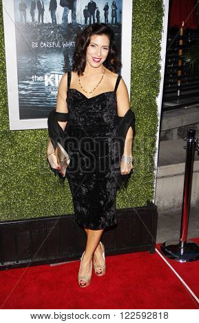 Claudia Ferri at the Los Angeles Season 2 premiere of AMC's 'The Killing' held at the ArcLight Cinemas in Hollywood, USA on March 26, 2012.