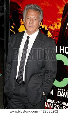 Dustin Hoffman at the HBO's Los Angeles premiere of